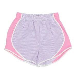 NWT Lauren James Seersucker Shorties XL // K10